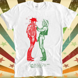 Cowboys Naked Worn By Sid Vicious Gay Retro Vintage Hipster Unisex T Shirt 1151 GBP 8.80