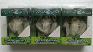 River2Sea Dahlberg Diver Frog Lures (3) weedless lures
