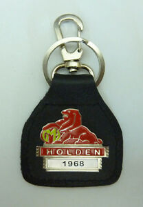 1968 Holden Real Leather Year Specific Classic Car Keyring....Keyfob