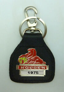 1975  Holden Real Leather Year Specific Classic Car Keyring....Keyfob
