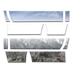 Auto Reflections Rocker Panels fit for 2011-16 Ford SD Reg Cab 8' [10p 10 12