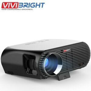 GP100 5.8 inch LCD 1080P Full HD LED Portable Multimedia Home Theater Projector