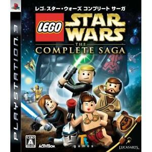 Used PS3 LEGO Star Wars: The Complete Saga Japan Import