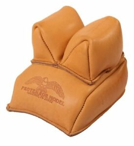 Protektor Model Grain Leather Rabbit Ear Rear Bag Filled with Sand