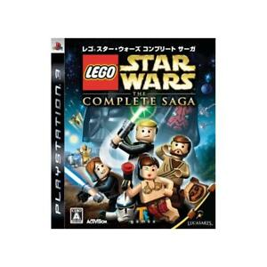 Used PS3 Lego Star Wars The Complete Saga Japan Ver.