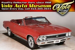 1966 Chevelle SS 427 Fast 427 4-speed and a posi. Air cond too!