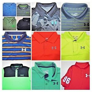 Youth Boys UNDER ARMOUR POLO Shirts -All sizes -Click SIZE for list