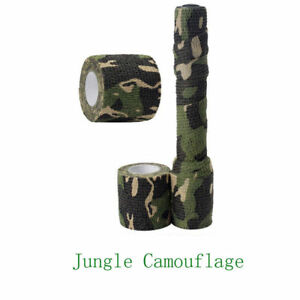 Waterproof Outdoor Hiking Camping Hunting Jungle Camouflage Stealth Tape Wraps