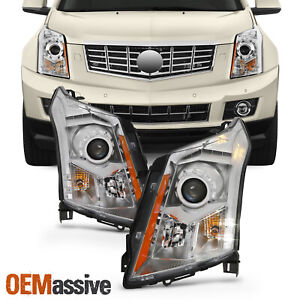 Fits 2010 2016 Cadillac SRX Halogen Projector Headlights Lamps Replacement Pair $259.99