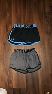 youth girls under armour shorts $20.00
