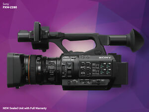 NEW Sony PXW-Z280 XDCAM 4KHD HDR Camera with 17x AutoManual Zoom Lens