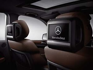 Mercedes-Benz Rear-Seat Entertainment Kit BLACK. ML-ClassGL Pre-Wiring Required