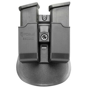FOBUS 9MM & .40 DOUBLE-STACK DOUBLE MAGAZINE POUCH (FITS GLOCK & H&K USP) FOBUS