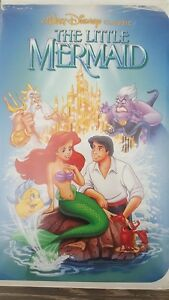 VER RARE  CLASSISIC The Little Mermaid VHS Banned Cover # 913 Black diamond.