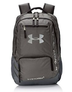 Under Armour UA Storm Hustle II [1263964-040] Backpack Dark GraySilver