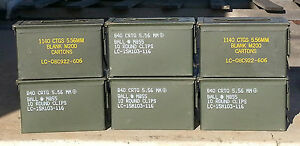 (1) US Military SURPLUS 50 CAL M2A1 * M2A2 Ammo Can Box .50 TOOL STORAGE 9MM