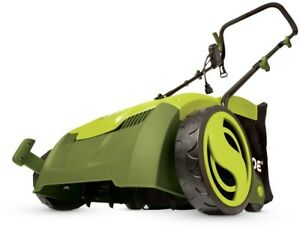 Sun Joe 13 In. 12 Amp Electric Scarifier + Lawn Dethatcher With Collection Bag