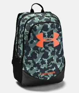 NEW Under Armour UA Storm Scrimmage Laptop Backpack Brasilia Stakes 3S Camo