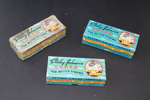 RARE Vintage Staley Twin Minn Indiana Old Lure Antique Boxes!