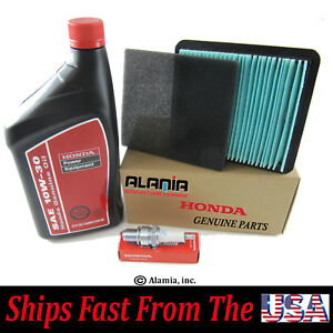 Genuine Honda EU3000is Generator Maintenance Tune Up Kit Filters Oil Spark.