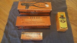 Lyman Ideal 310 Reloading Tool .38 Special Dies Dipper Shell Resizer Solvent