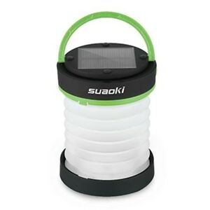 SUAOKI Led Camping Lantern Lights Rechargeable Battery (Solar Panel Power USB)