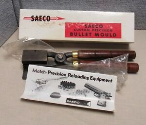 Vintage Saeco Custom Precision Bullet Mould Mold 294130 With Box