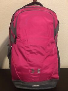UNDER ARMOUR Team Hustle Storm Pink Backpack Unisex