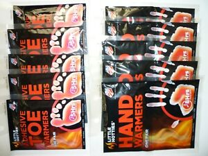 LITTLE HOTTIES HAND WARMERS ANDOR TOE WARMERS - BULK -YOUR CHOICE OF QUANTITIES