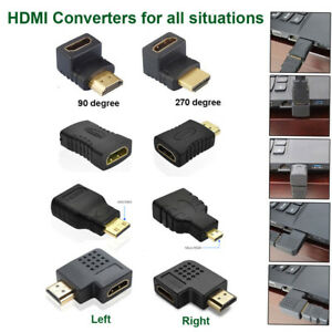 Mini 8 Styles HDMI Male to Female Extension Adapter Converter Micro Cable