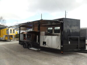 8.5x20 Pizza Event Catering Concession Trailer