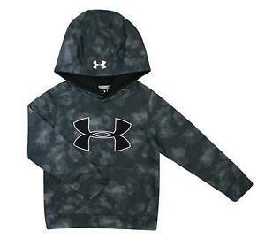 Under Armour Boys Hoodie Storm1 Water Resistant Grey X-Small nwt $45