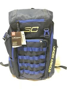 Under Armour Men's UA SC30 Curry Basketball Backpack Blue