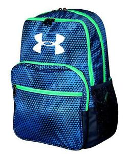 Under Armour HOF Youth Boys Athletic Multi purpose School Backpack Blue nwt $45