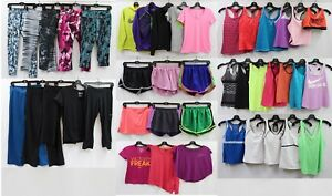 Huge Lot 40+ All Nike Just Do It Leggings Jackets Tank Tops Running Shorts Sz M