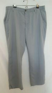 Lot of 2 Under Armour gray and navy golf athletic pants size 42x30