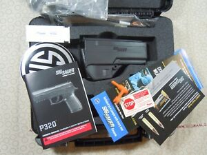 SIG SAUER  MODEL 320C FACTORY HARD CASE WITH MANUAL + HOLSTER - 94231.