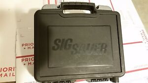 Sig Sauer P938 9mm Pistol box factory OEM case with holster lock manual