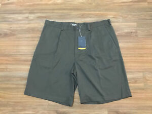 Men's Nike Golf Pleated Shorts Tour Performance Men's 42 198589 242 FIT DRY NEW