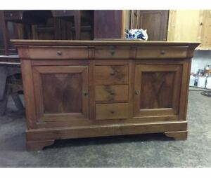 Antique Two-Door and Six Drawers