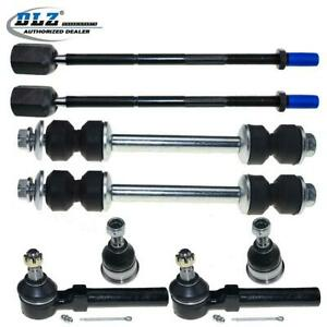 For Ford Mustang 1994 2004 Front Suspension Kit Tie Rods Ball Joints Sway Bars 8 $56.44