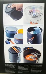 GSI Outdoors Pinnacle Dualist Complete Camping Cook Set Ultralight 50150- NEW