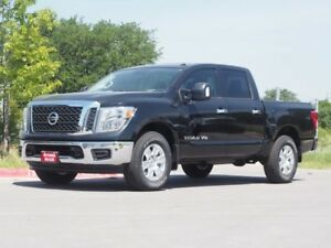 2018 Titan SV Nissan Titan Magnetic Black with 5 Miles for sale!