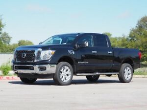 2018 Titan SV Nissan Titan XD Magnetic Black with 5 Miles for sale!