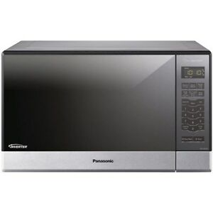 Panasonic NN-SN686SR 1.2 Cu. Ft. Built-In/Countertop Microwave Oven