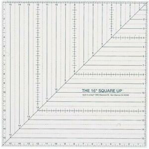 Quilt In A Day 16 Inch by Square Up Ruler $45.13