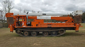 2003 Hico by Powertraxx Track mounted Terex Hi Ranger  Prinoth Morooka