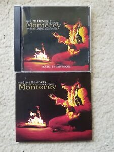 Lot of 2: Jimi Hendrix Monterey CD + promo only radio special! 2 CDs!