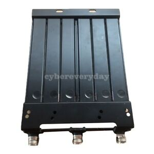 50W 136-180MHz DUPLEXER UHF 6 CAVITY UHF-F Connector for Two Way Radio Repeater