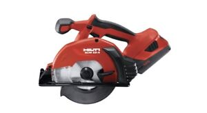 Hilti 22V cordless circular saw for fast, precise and cold cuts in metal